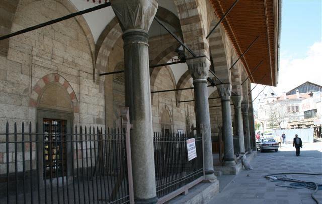 Cami Sütun Kumlama